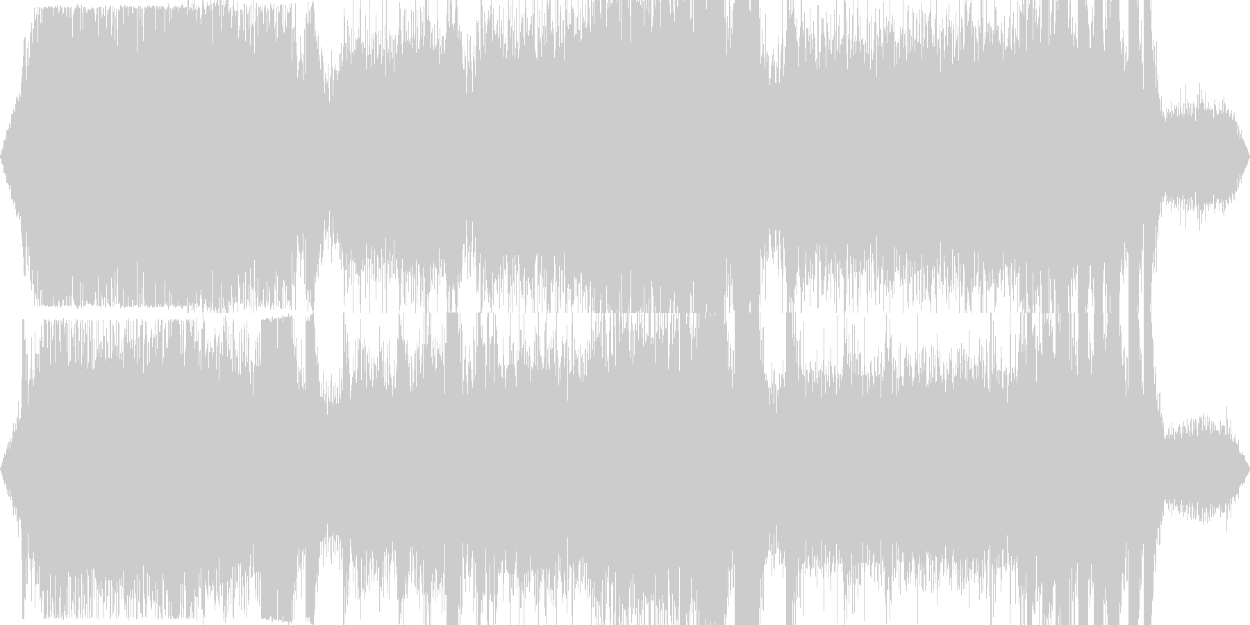 工事現場の騒音 ゴゴゴ カンカン その2の未再生の波形