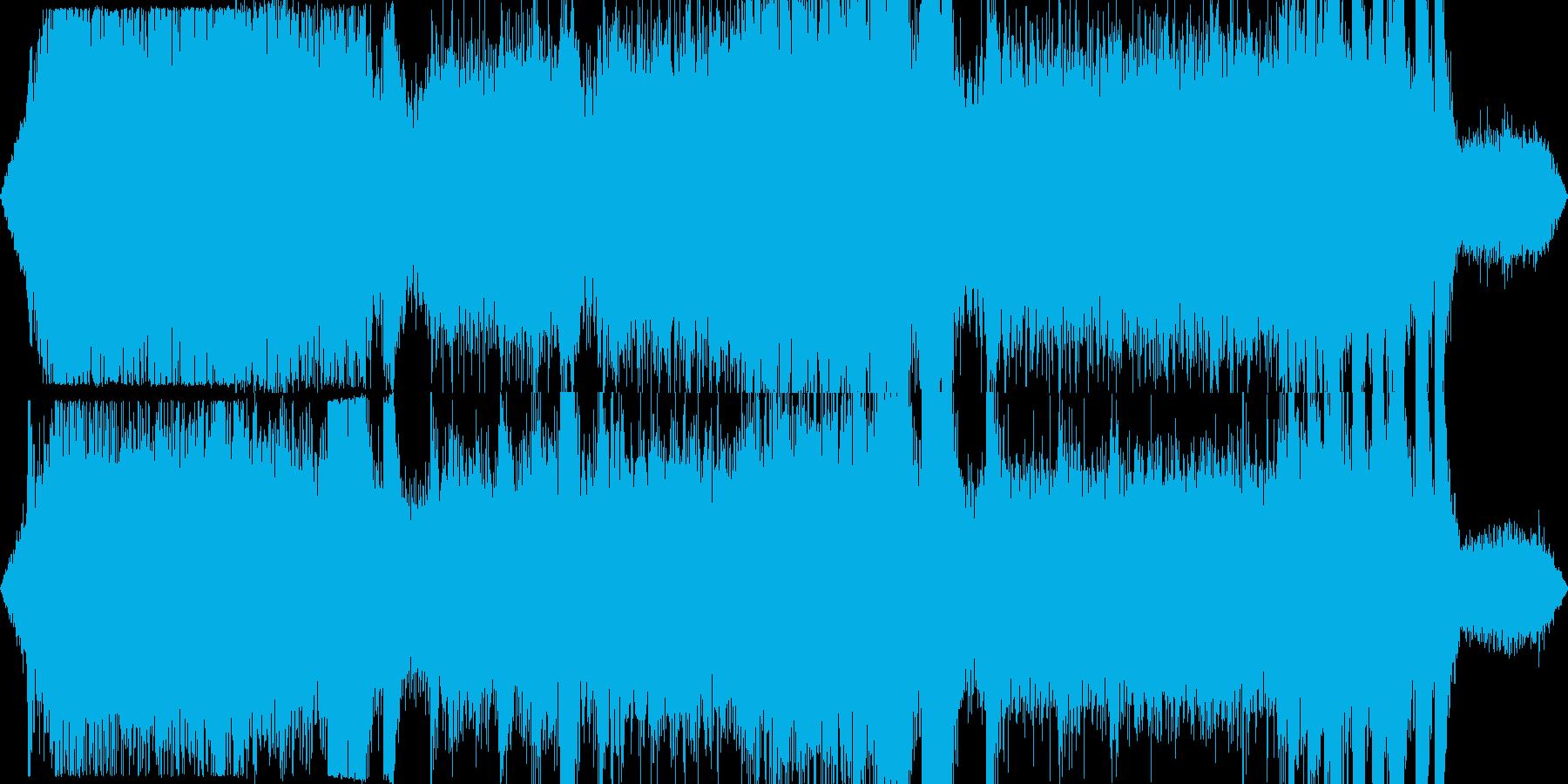 工事現場の騒音 ゴゴゴ カンカン その2の再生済みの波形