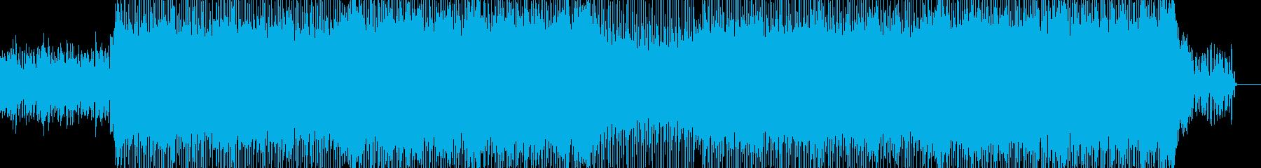 明るくポップな企業イベントVP-34の再生済みの波形