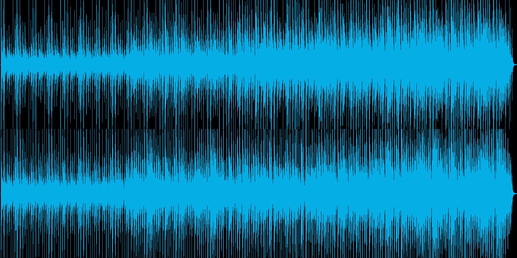 ラテンやアフリカンポップスの再生済みの波形