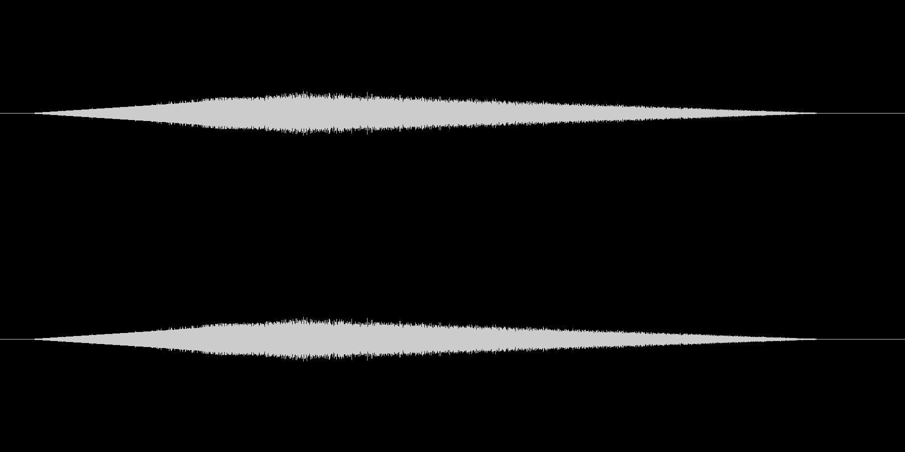 レトロゲーム風魔法・水系1の未再生の波形