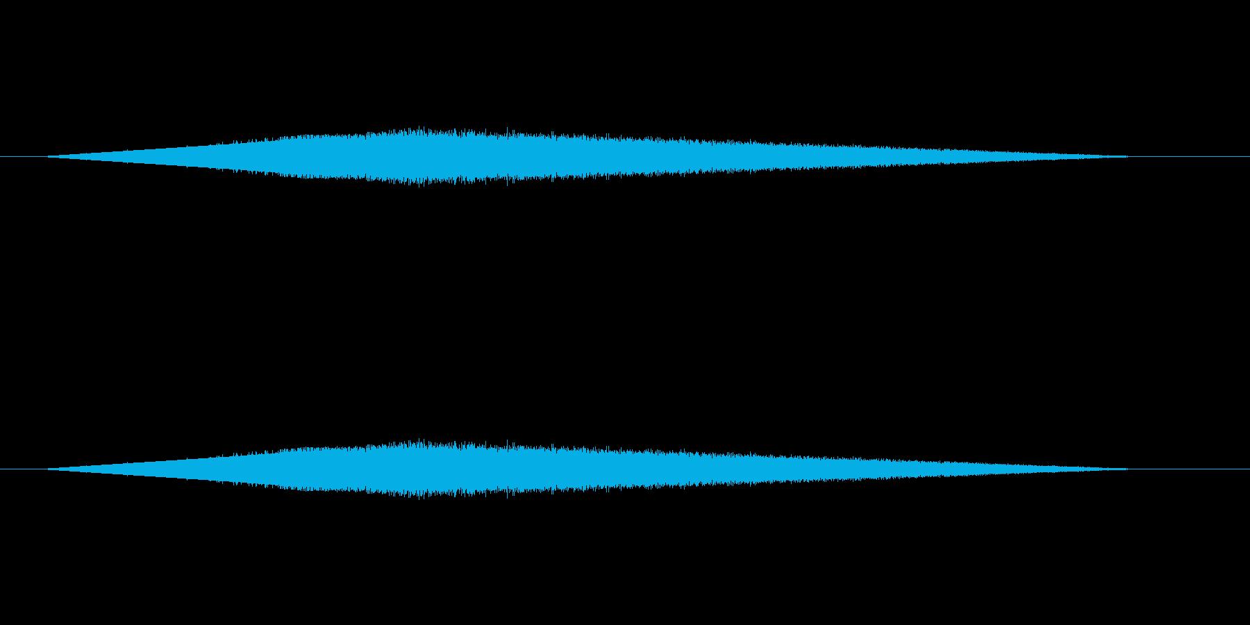 レトロゲーム風魔法・水系1の再生済みの波形