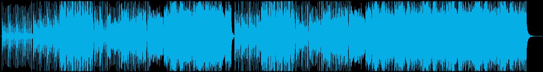 かっこいい変拍子とヴァイオリン生演奏の再生済みの波形