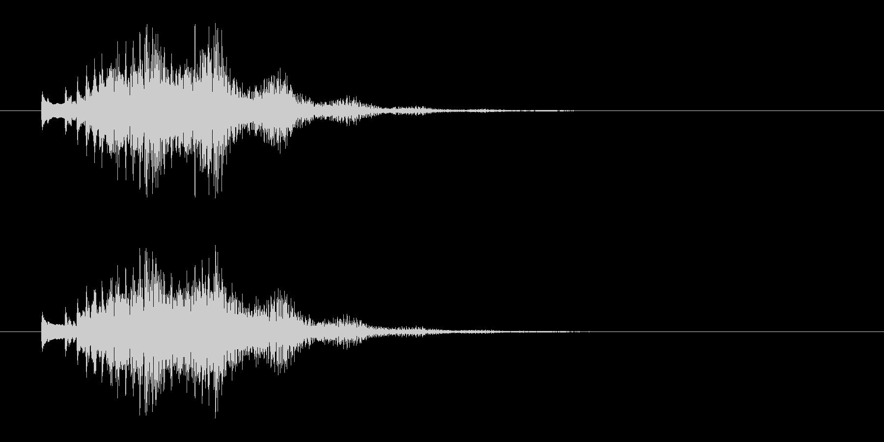 木琴glissの未再生の波形