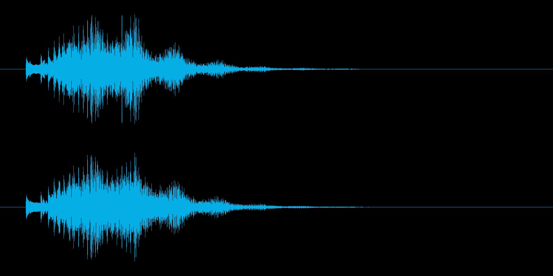 木琴glissの再生済みの波形
