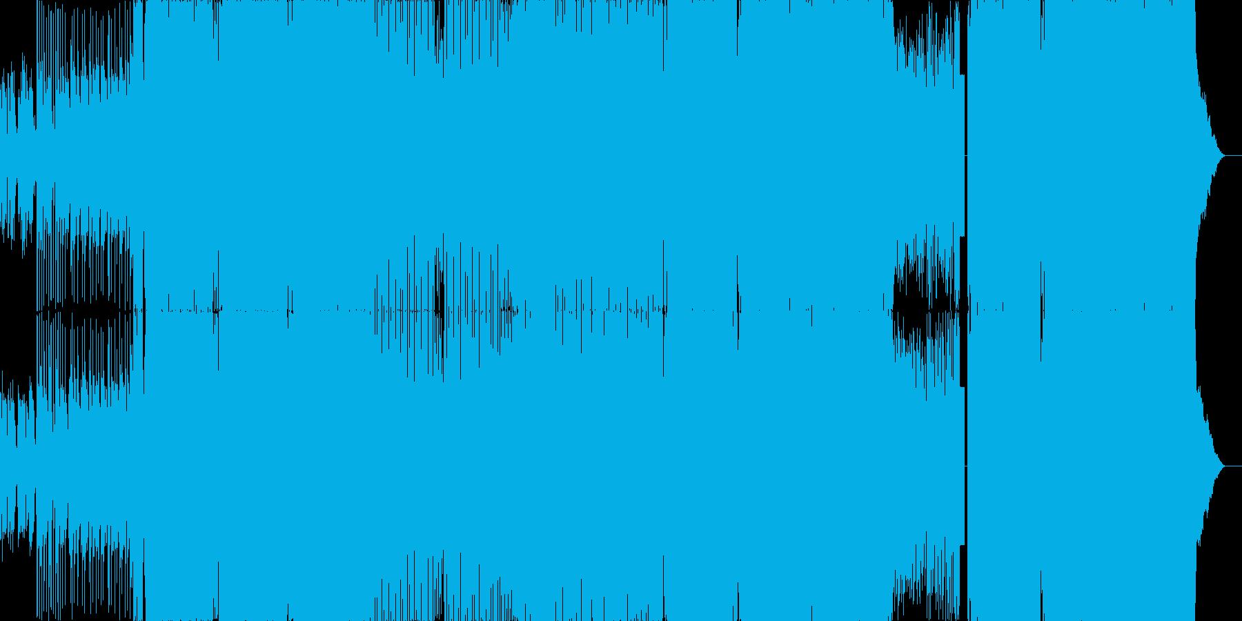 感動的EDMの再生済みの波形