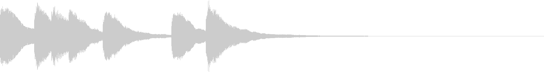 シンプル ベル チャイナ 中国風 13の未再生の波形