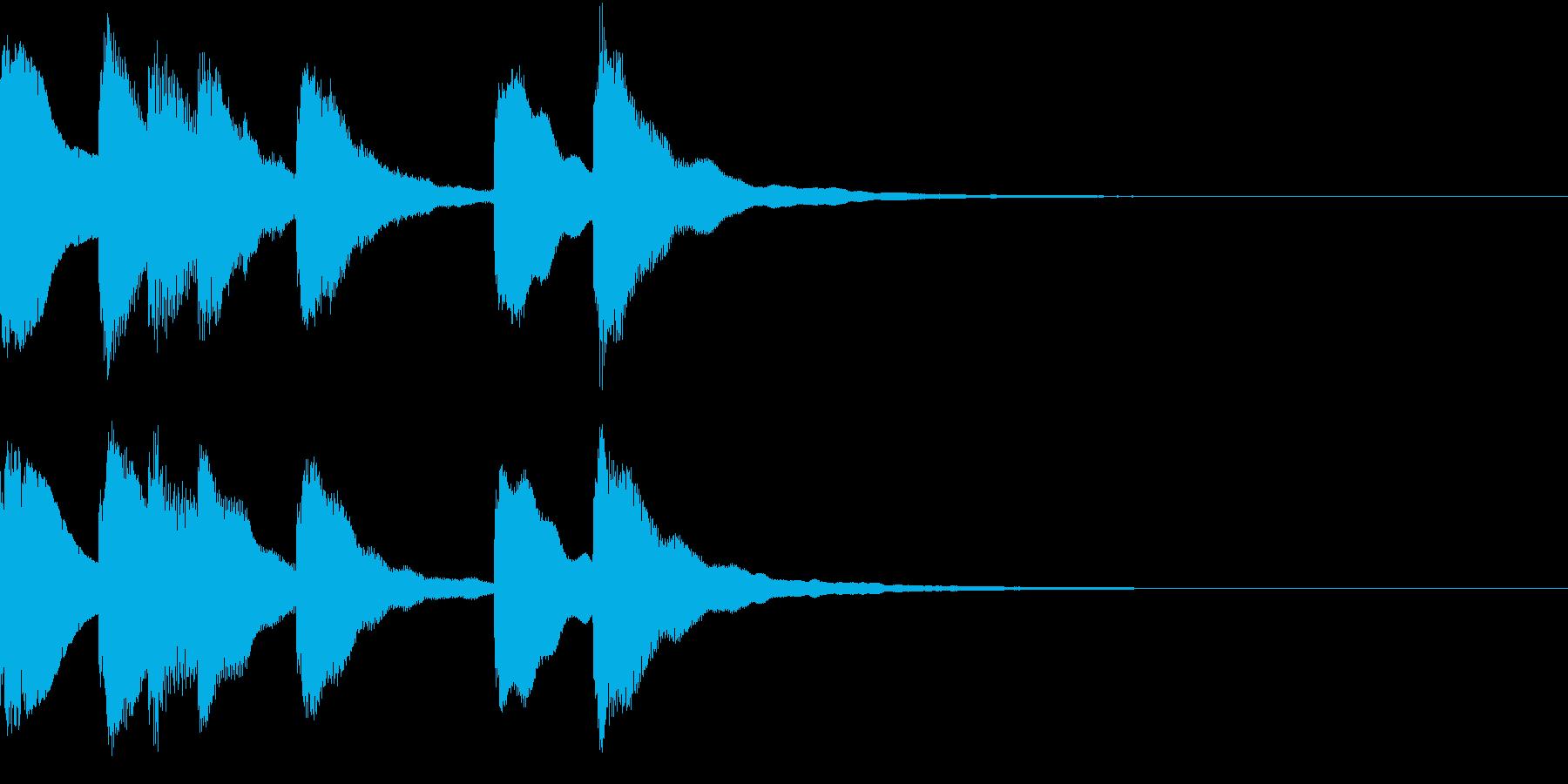 シンプル ベル チャイナ 中国風 13の再生済みの波形