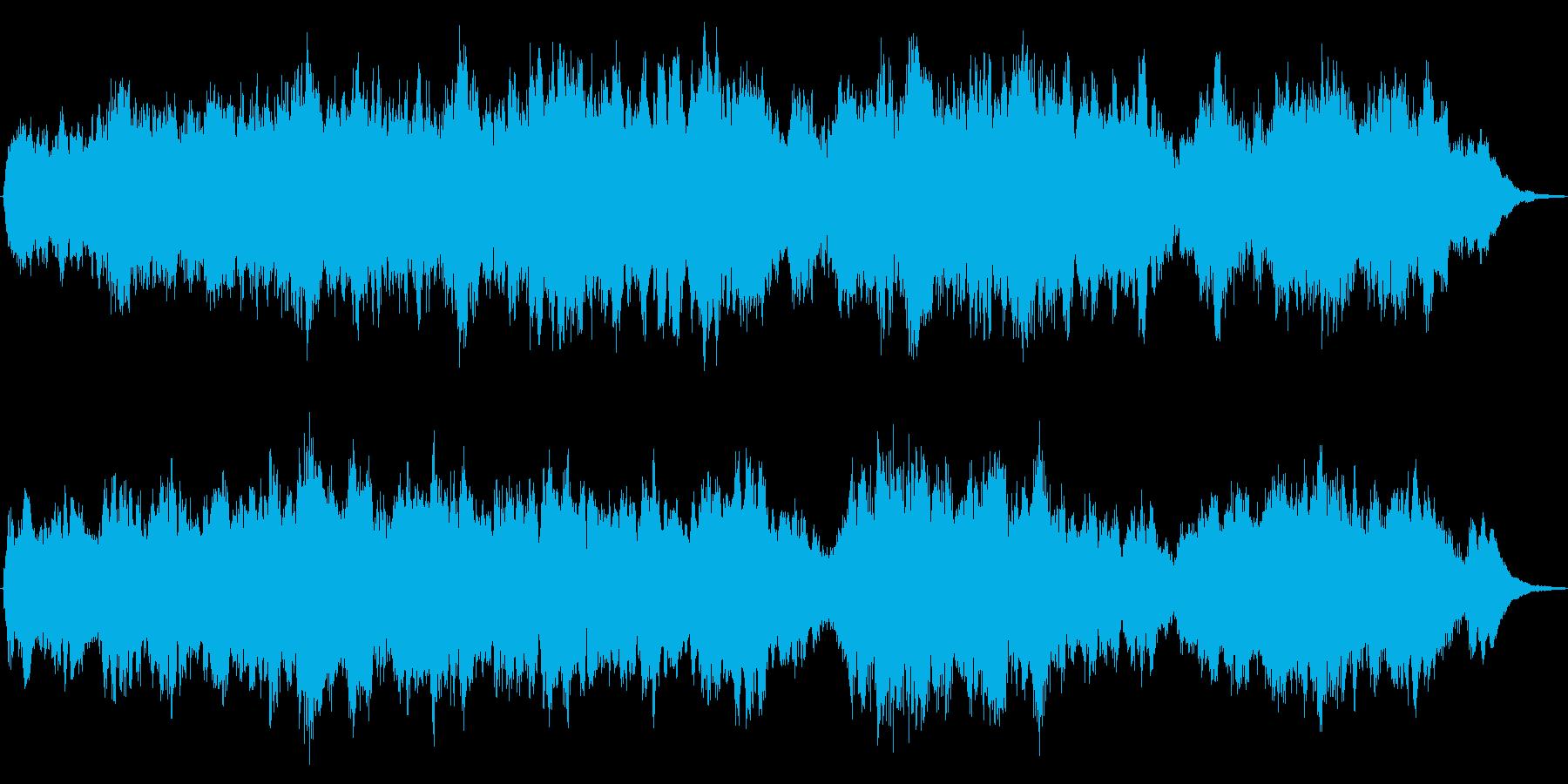 G線上のアリア・優雅な弦楽合奏30sの再生済みの波形