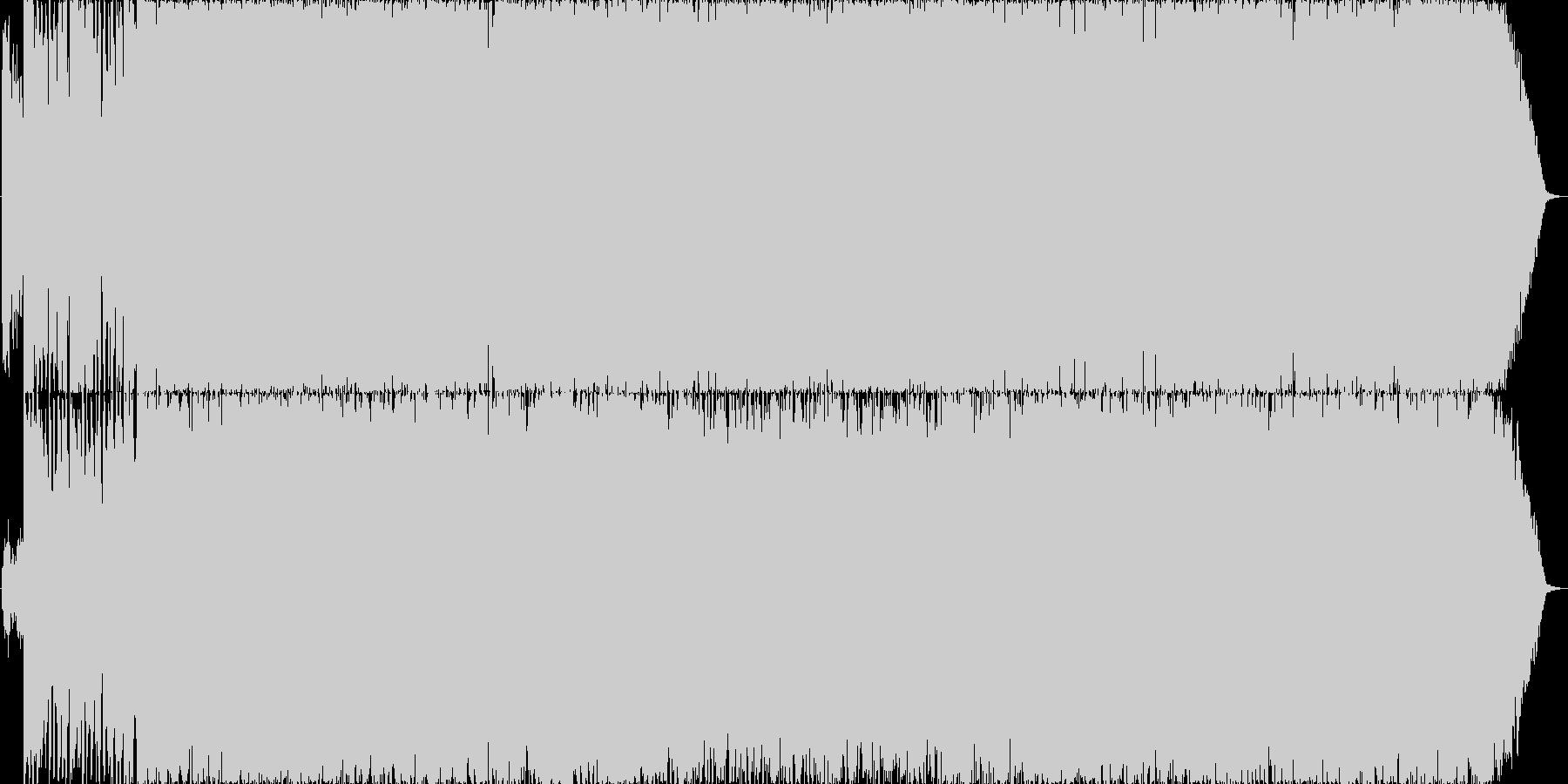 さわやかなストリングス系OP曲の未再生の波形