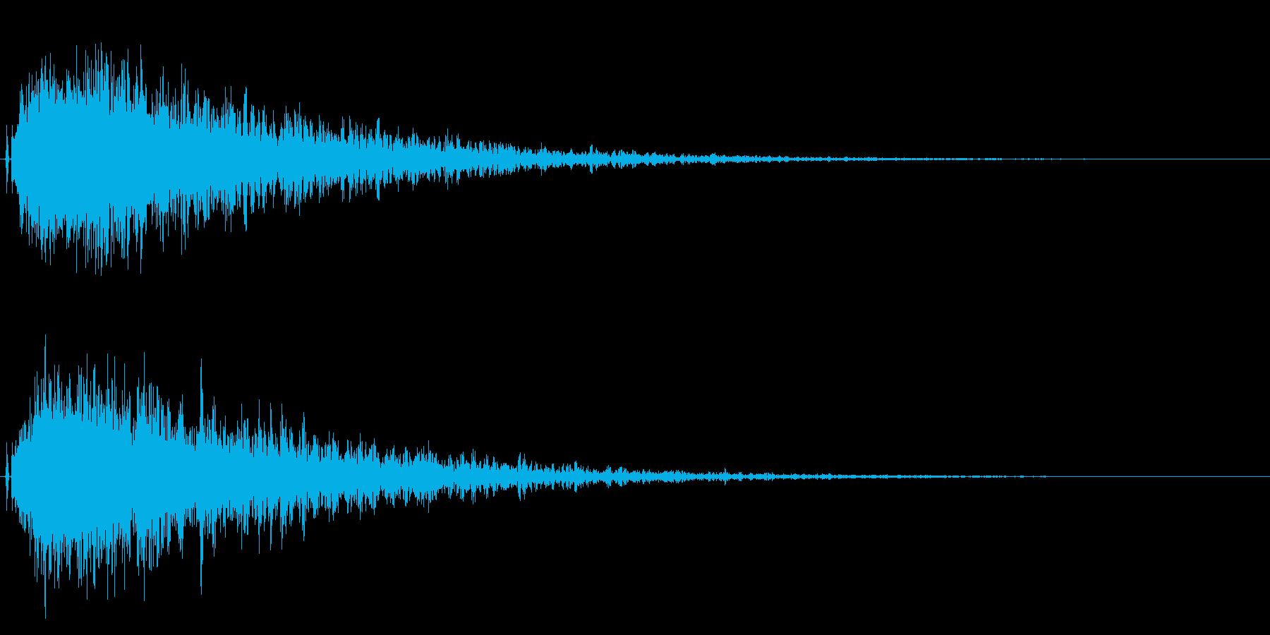 シャキーン!残響のあるインパクトに最適2の再生済みの波形