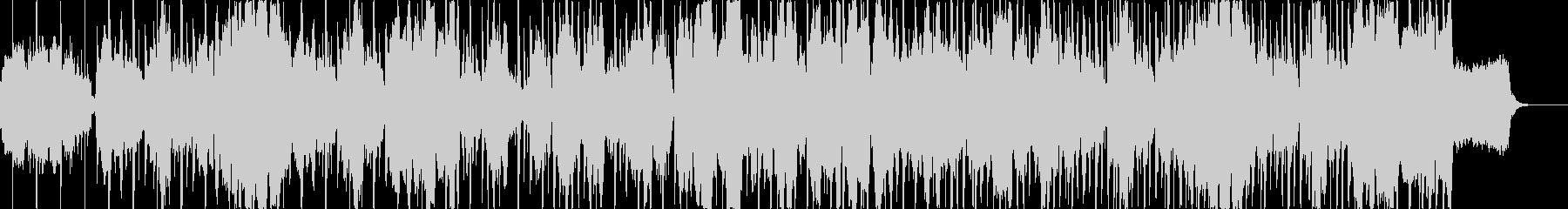 結婚行進曲*生バイオリン+テクノサウンドの未再生の波形