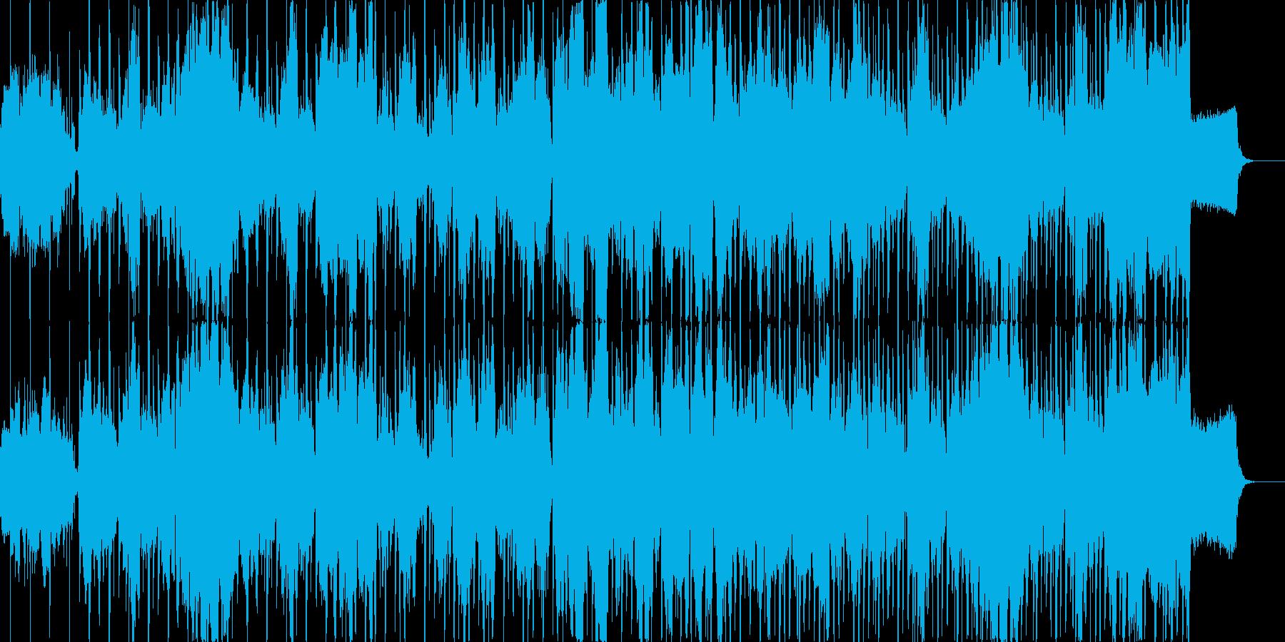 結婚行進曲*生バイオリン+テクノサウンドの再生済みの波形