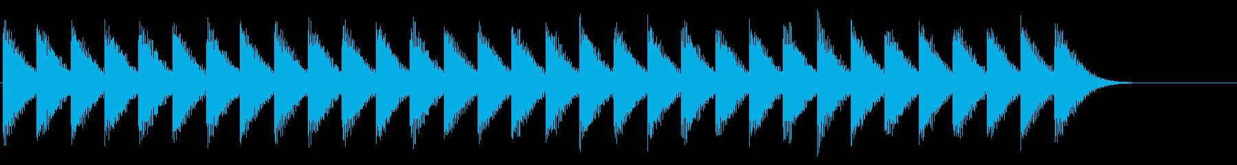 踏切/カンカン/電車の再生済みの波形