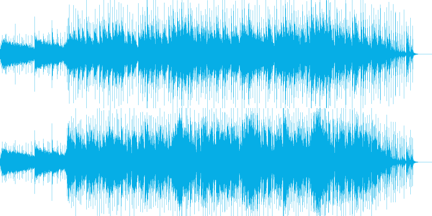 沖縄をイメージして作りましたの再生済みの波形