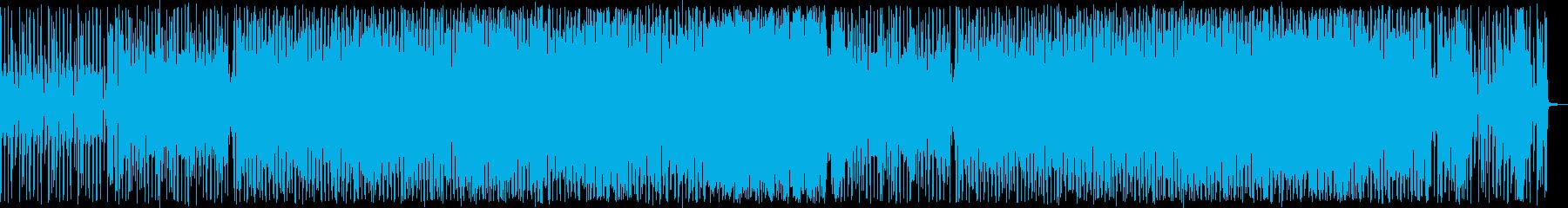 洗練された都会のクールなディスコサウンドの再生済みの波形