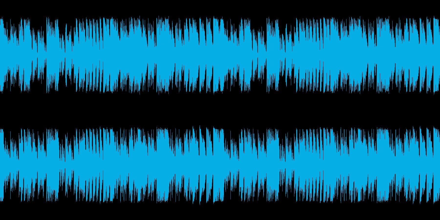 「シンセリードがアクセントのインスト」の再生済みの波形