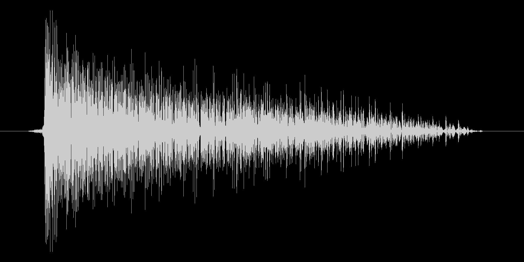 ゲーム(ファミコン風)爆発音_012の未再生の波形