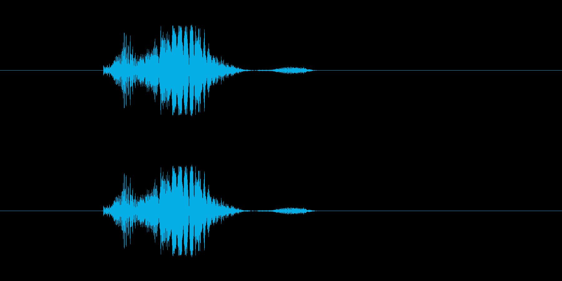 (窒息)の再生済みの波形