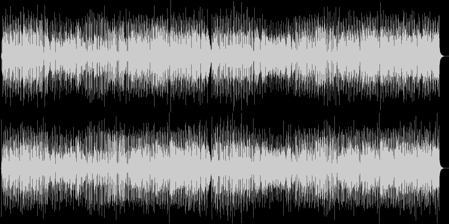 和やかで優しい可憐なメロディーポップスの未再生の波形