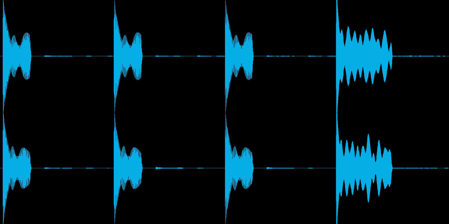 レース スタート合図音 宇宙verの再生済みの波形