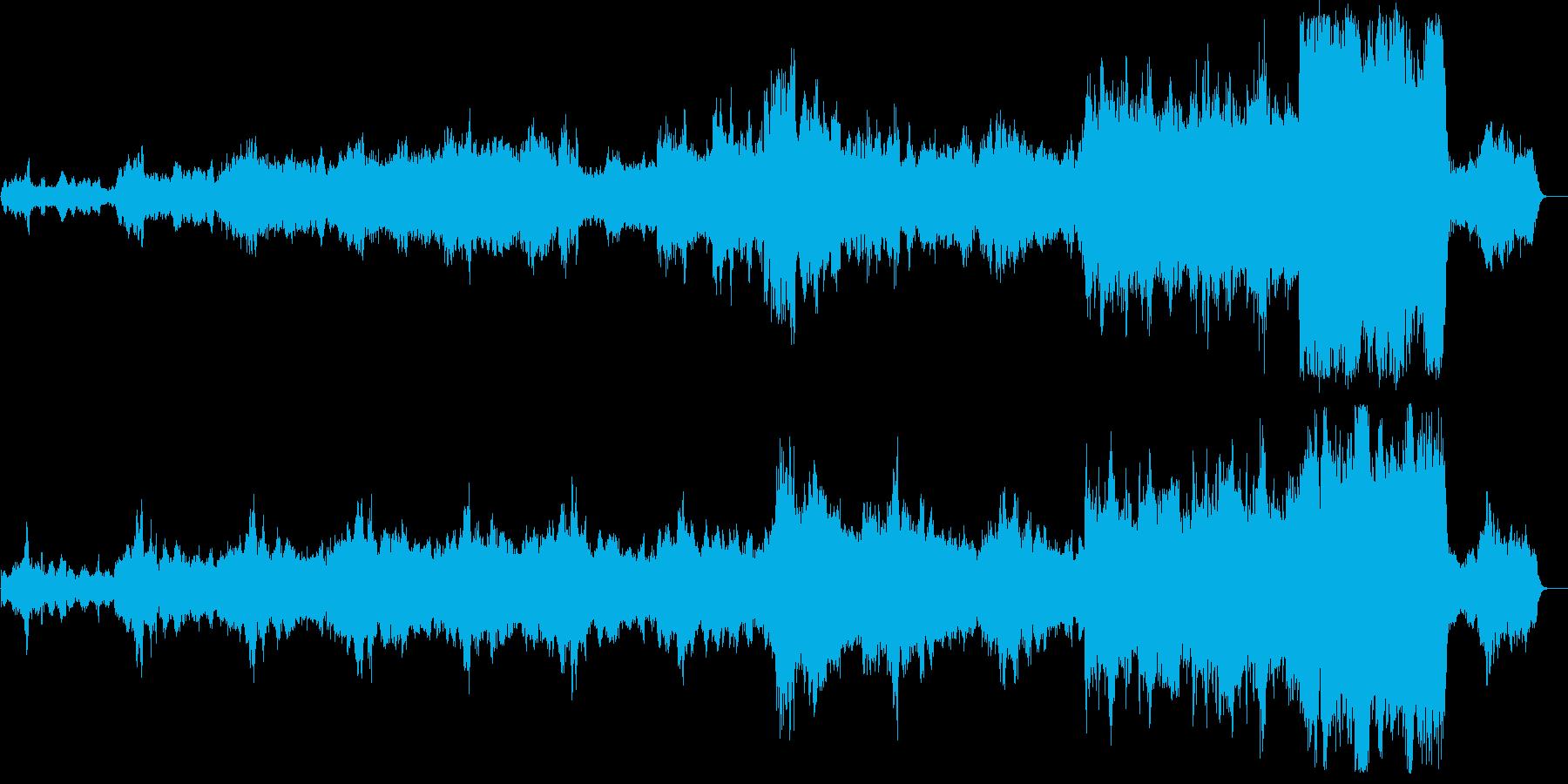 静かな音楽で、どこか宗教的な荘厳さもの再生済みの波形