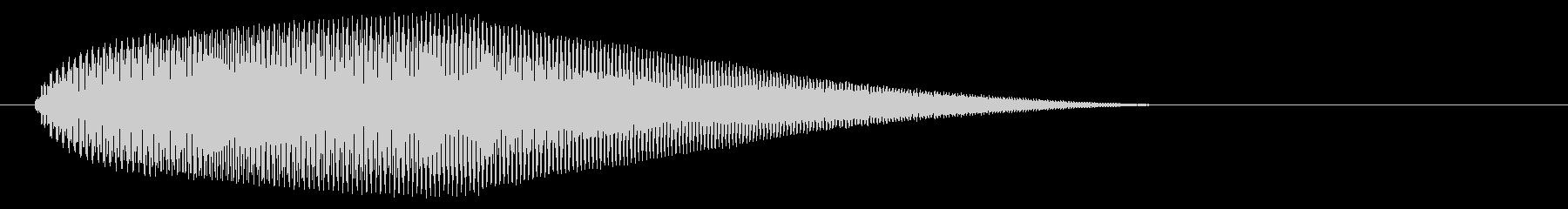 【ピヨーン】ファミコン系ジャンプ音_04の未再生の波形