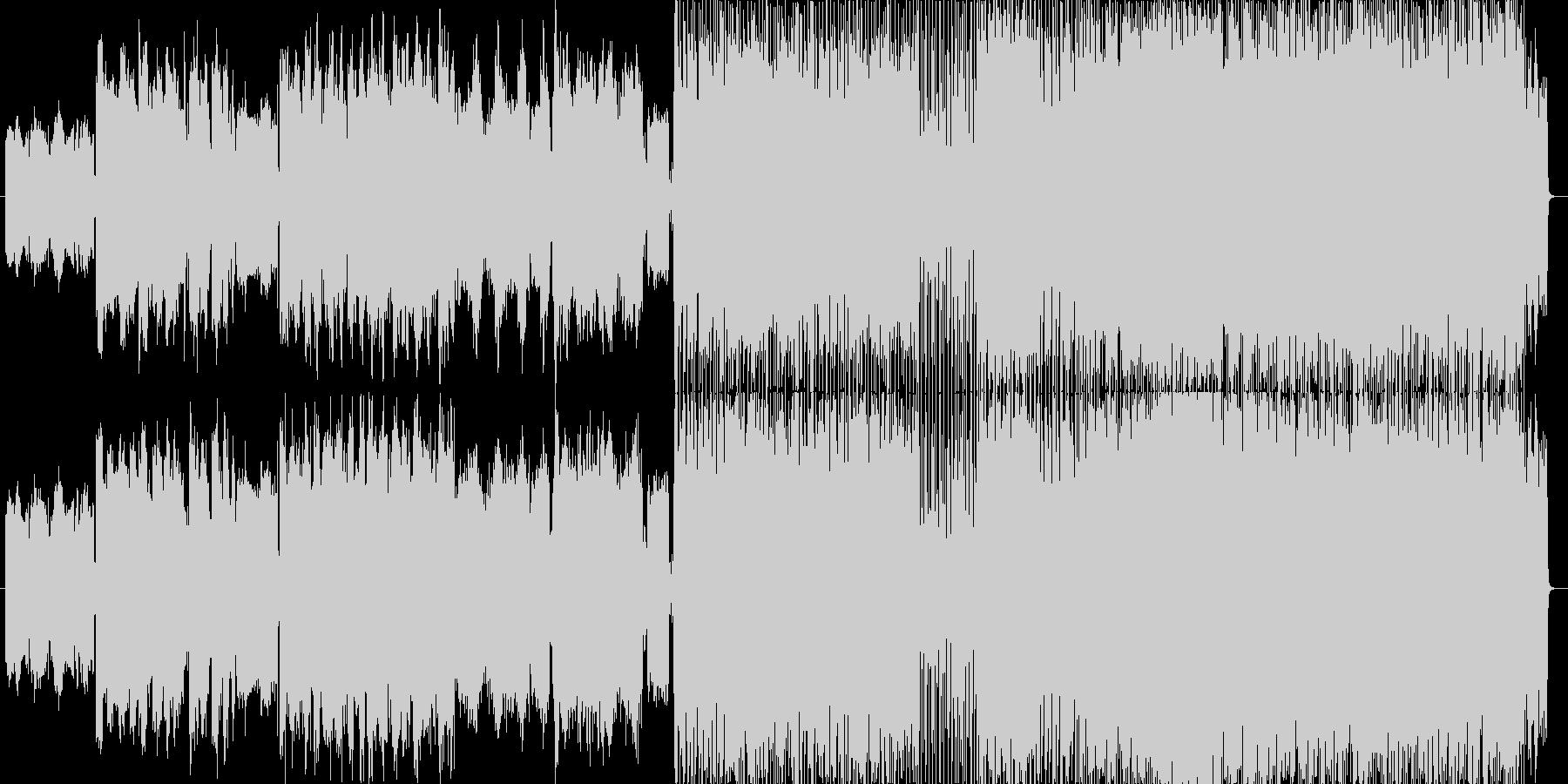 アイリッシュ風プログレッシブロックな曲…の未再生の波形