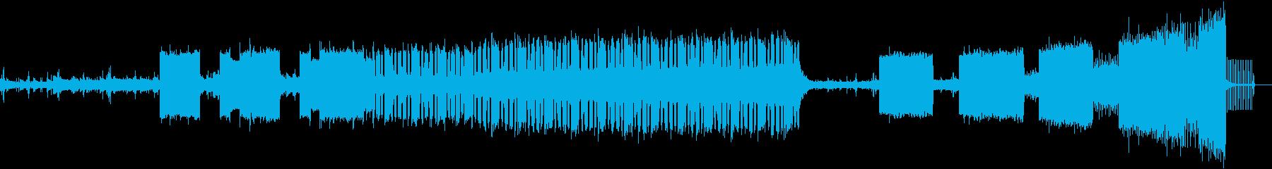 感傷的なピアノからクールなBeat 映画の再生済みの波形