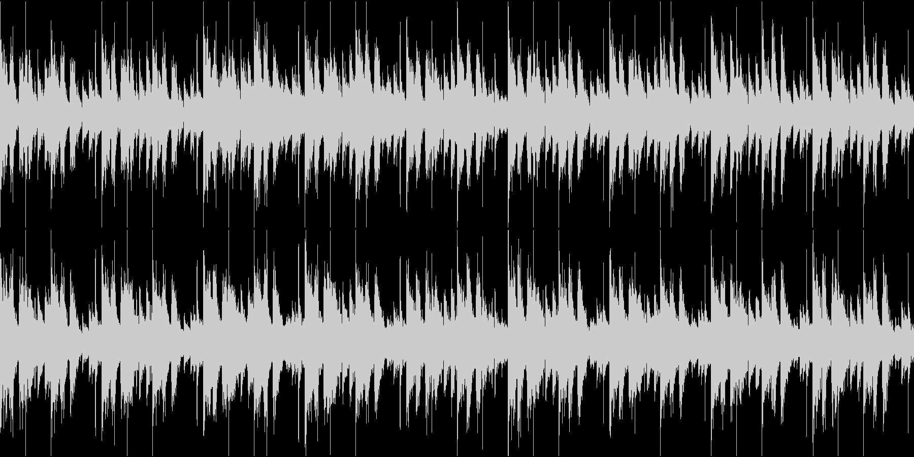 BPM110のループ可能BGMの未再生の波形