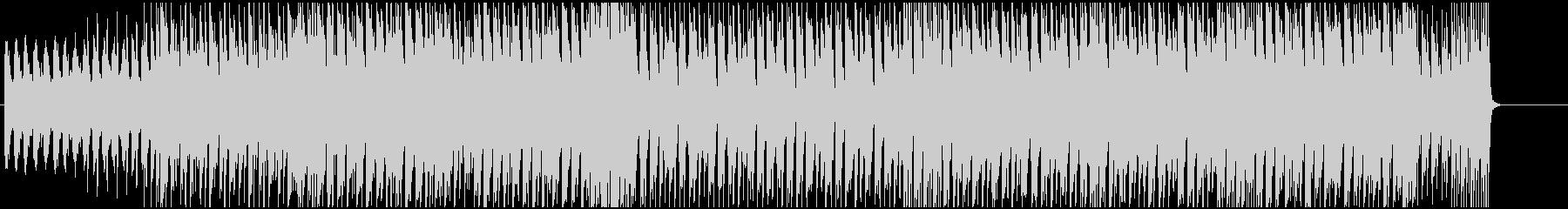 激しくインパクトあるメロディーの未再生の波形