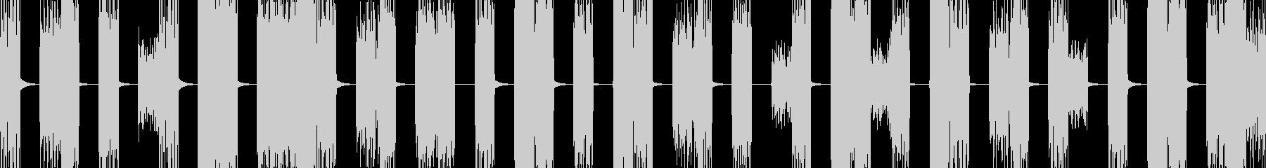 壊れたPCの様な音 ザップ音の未再生の波形