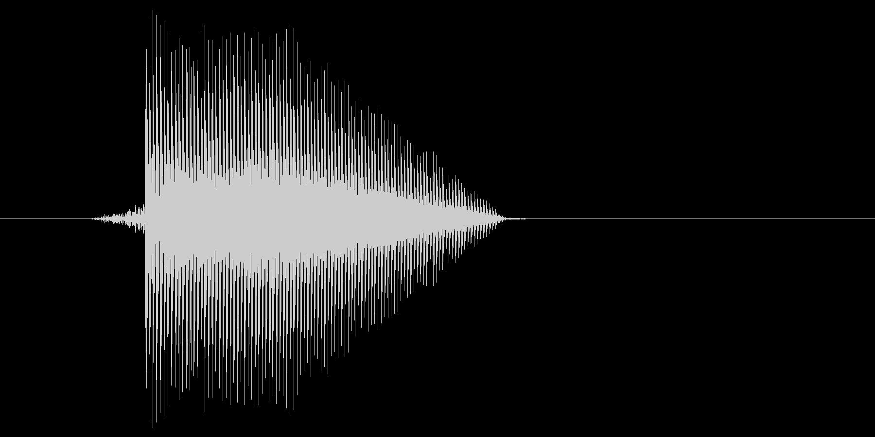 ゲーム(ファミコン風)ジャンプ音_020の未再生の波形