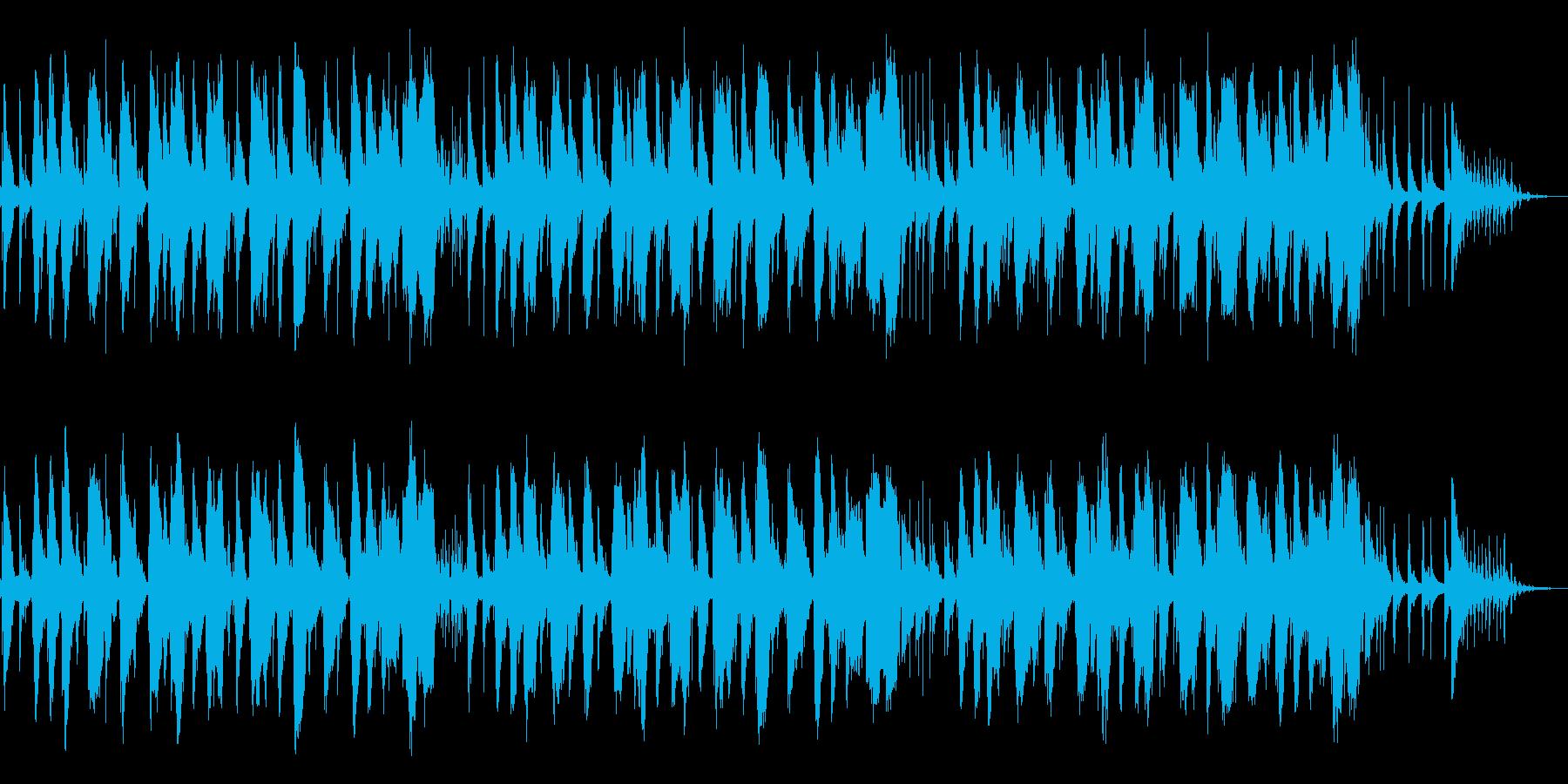 ちょこまか コミカル 転換ジングルの再生済みの波形