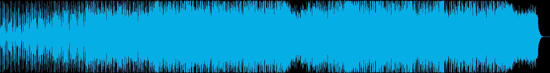 ピアノが透明感を感じさせるドラムンベースの再生済みの波形