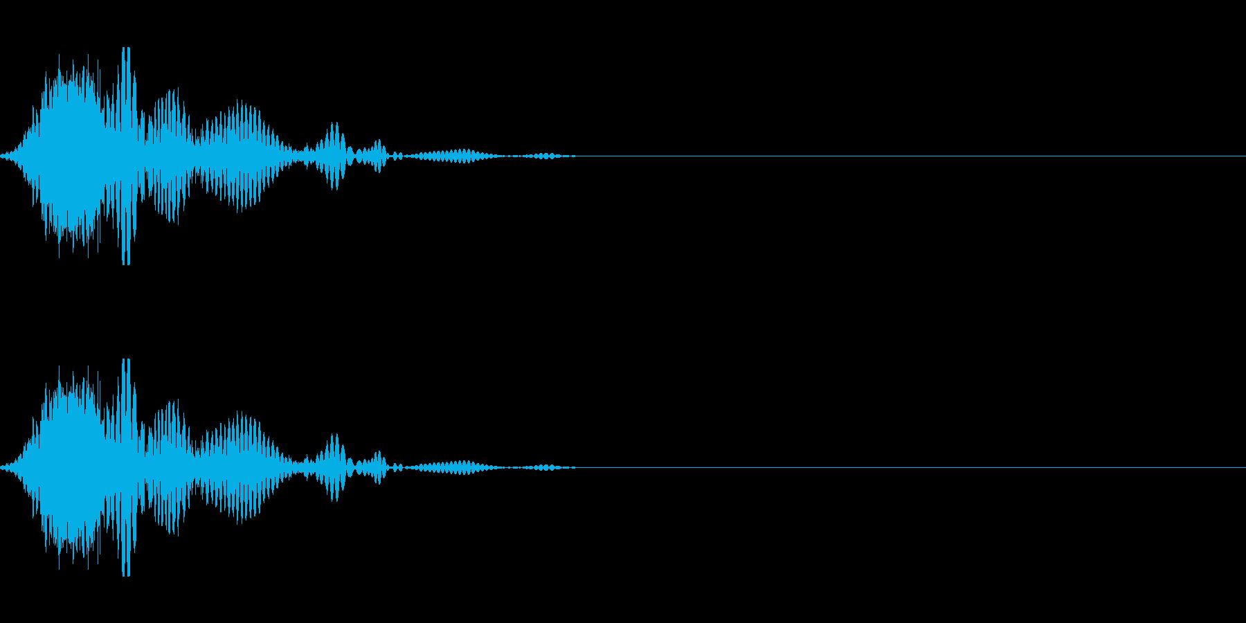 斬撃音(刀や剣で斬る/刺す効果音) 17の再生済みの波形