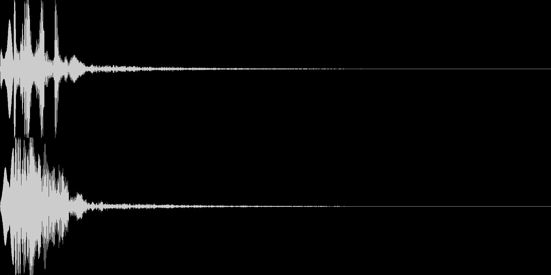システム音25_シンセDSの未再生の波形