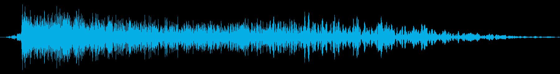 メニュー画面音(ウインドウ,決定等)06の再生済みの波形