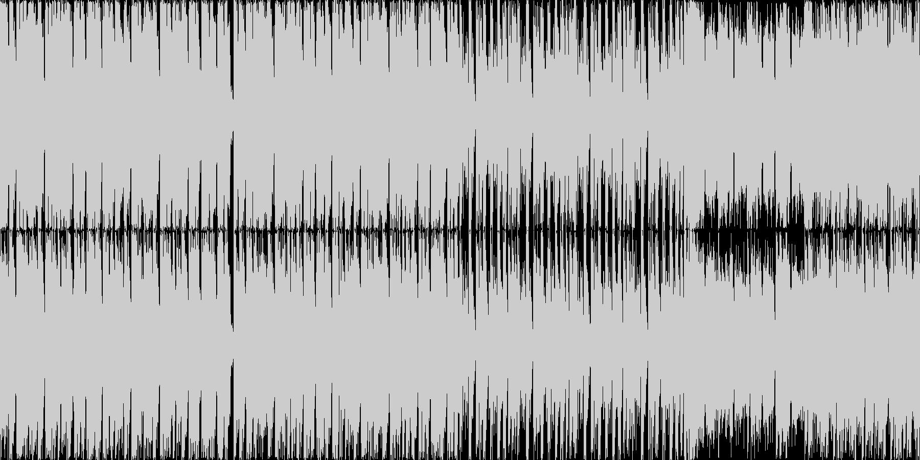 ロックマンを意識した疾走感重視のドラム…の未再生の波形