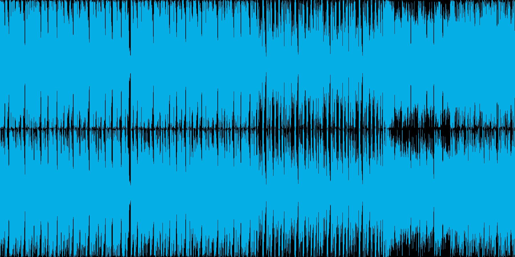 ロックマンを意識した疾走感重視のドラム…の再生済みの波形
