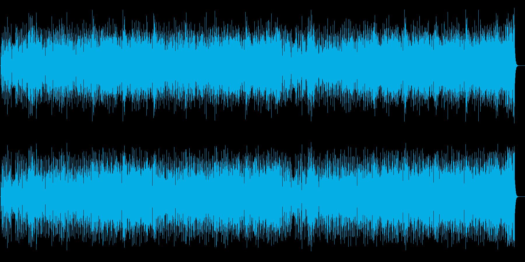 駆け抜ける様なポップ・フュージョンの再生済みの波形