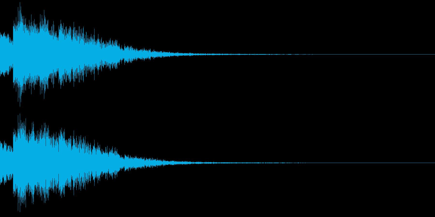 魔法音09_Aの再生済みの波形