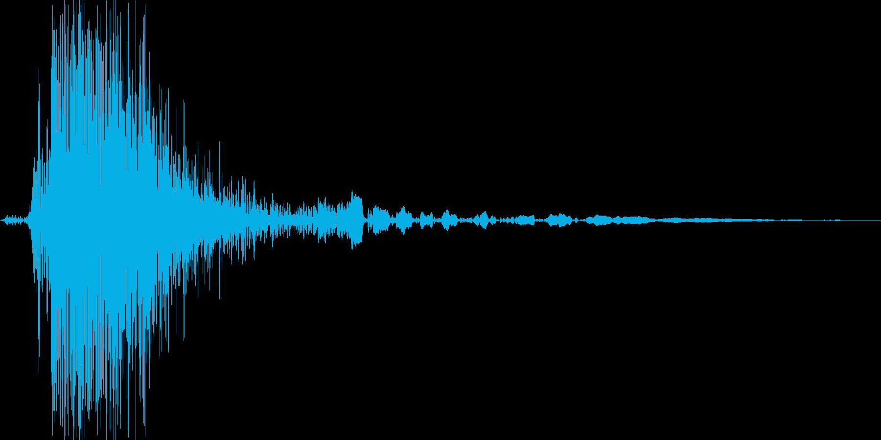 ゴム風船が割れる音_パンッ!_01の再生済みの波形