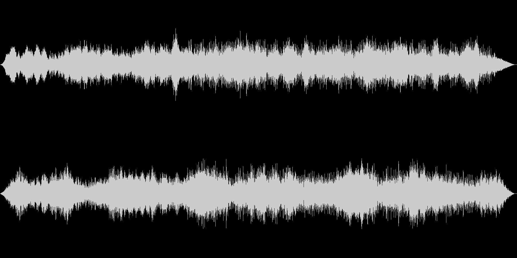アンビエント環境音楽ヒーリング-01の未再生の波形