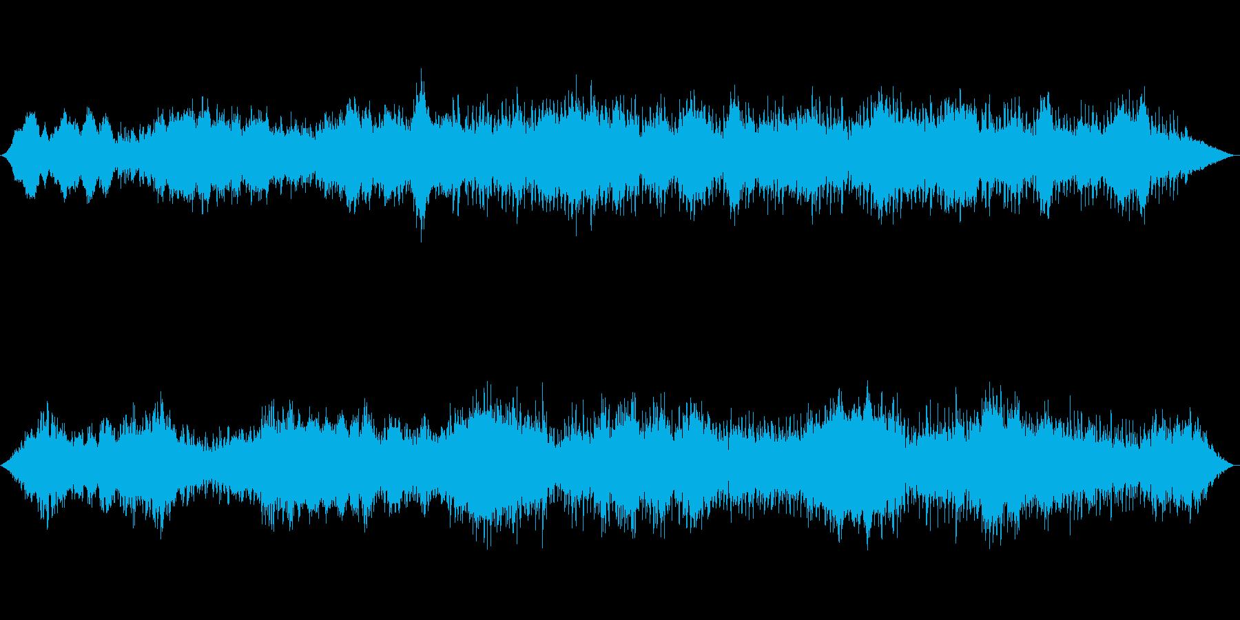 アンビエント環境音楽ヒーリング-01の再生済みの波形