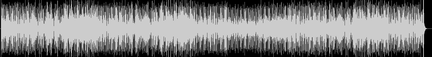 跳ねるピアノメインのイージーリスニング曲の未再生の波形