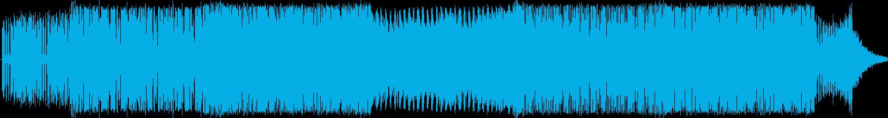 EDMクラブ系ダンスミュージック_2の再生済みの波形