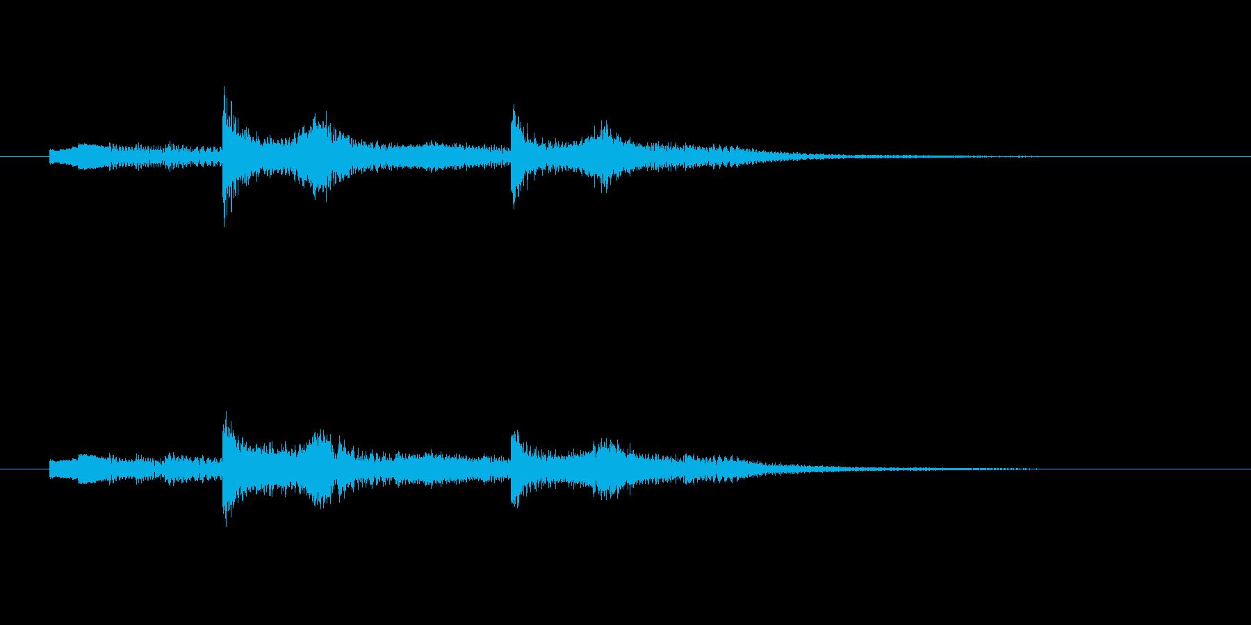 幻想的な和洋折衷な音楽の再生済みの波形