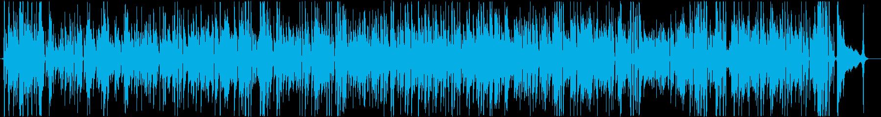 アコースティックでほのぼのとした猫の歌の再生済みの波形