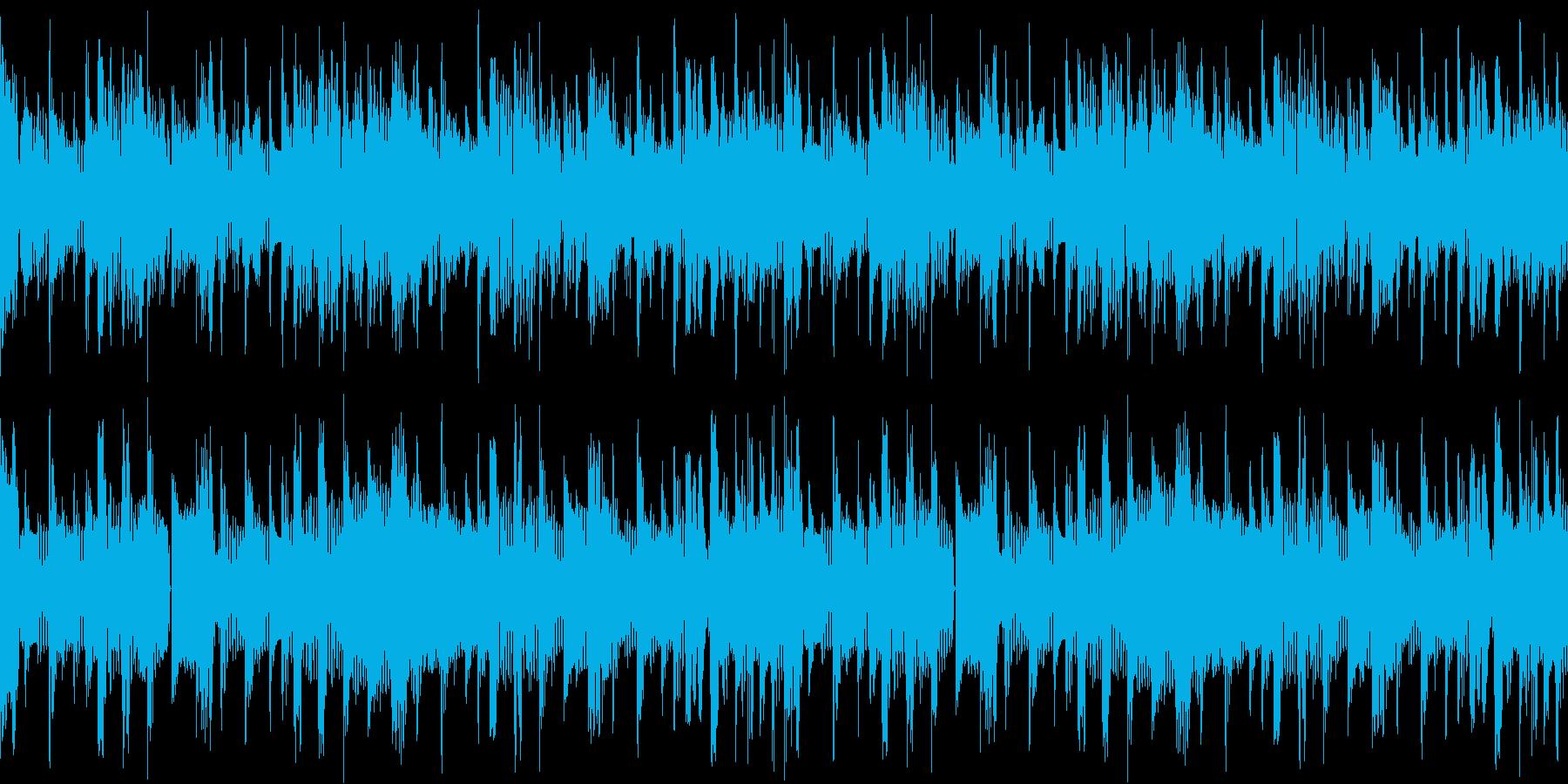 落雷の様なエレクトロサウンド全開!の再生済みの波形